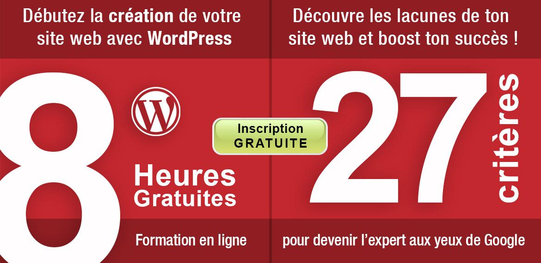 Cours de WordPress Gratuit