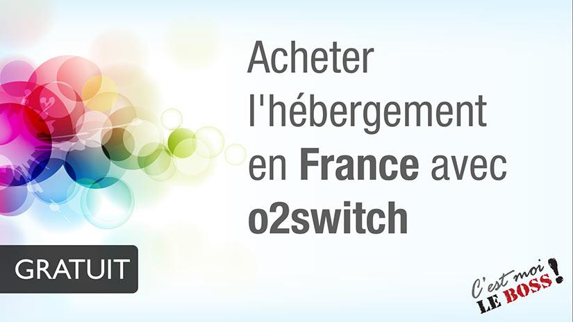 Acheter l'hébergement en France | o2switch