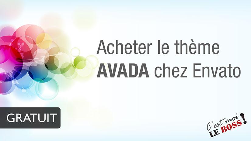 Comment acheter le thème Avada pour Wordpress