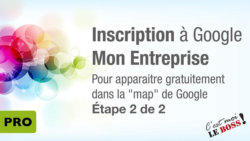 Google Mon Entreprise 2 de 2
