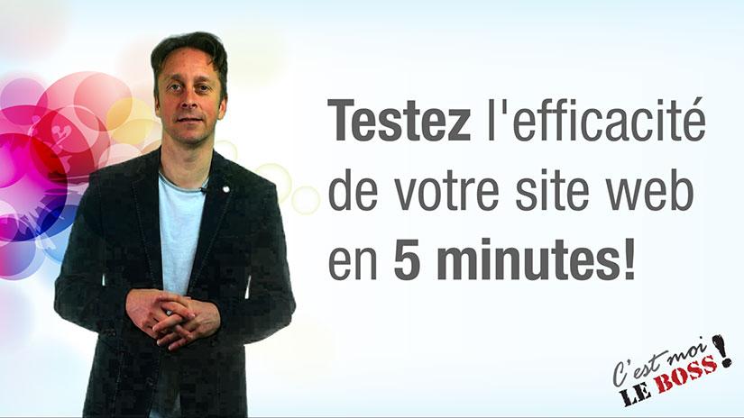 tester site web en 5 minutes - SEO