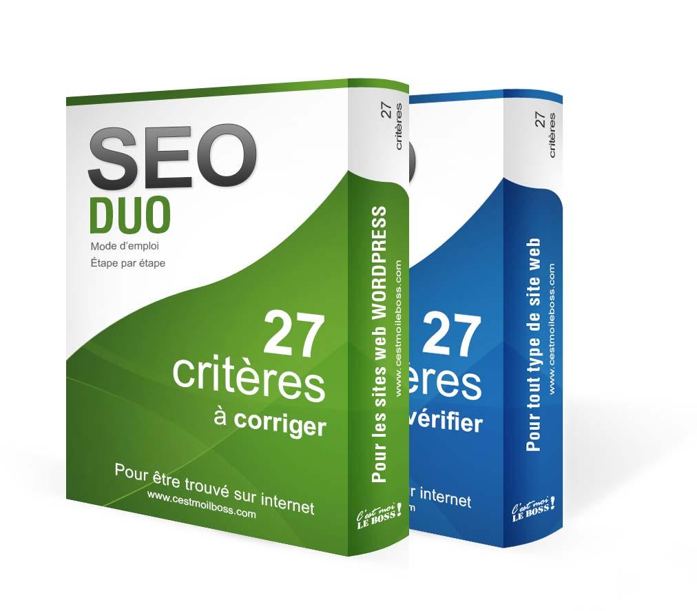 Duo - Formation en ligne SEO WordPress