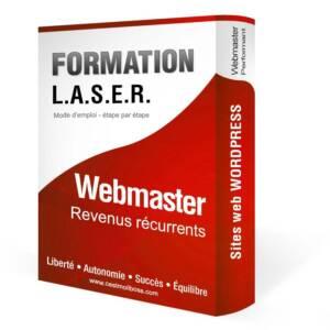 Formation en ligne • Webmaster Laser