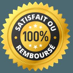 Satisfait ou 100% remboursé
